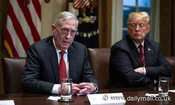 Furious Donald Trump lashes out at Jim Mattis for saying 'America First' needs to be ditched