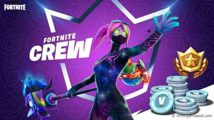 Fortnite Crew Is A $12 Subscription With Battle Pass Access And Monthly V-Bucks