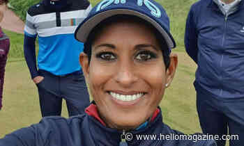 BBC Breakfast's Naga Munchetty returns to workout mode after painful injury