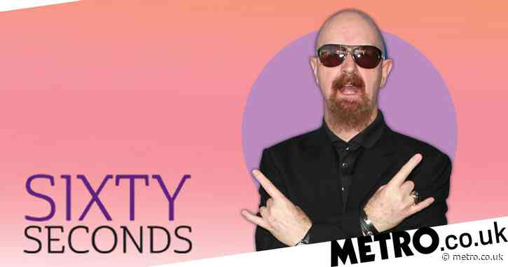 Sixty Seconds: Judas Priest's Rob Halford on being a gay heavy metal singer and having a fan in Lady Gaga