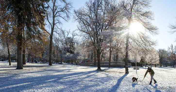 It might snow on Thanksgiving – but not much