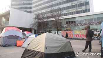 Elected officials voice support for defund police demonstrators camping at city hall