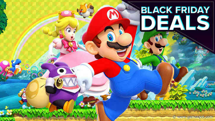 Black Friday Switch Deal Drops New Super Mario Bros. U Deluxe To Its Best Price Yet