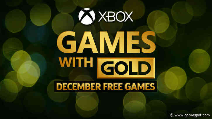 Xbox December Games With Gold Revealed