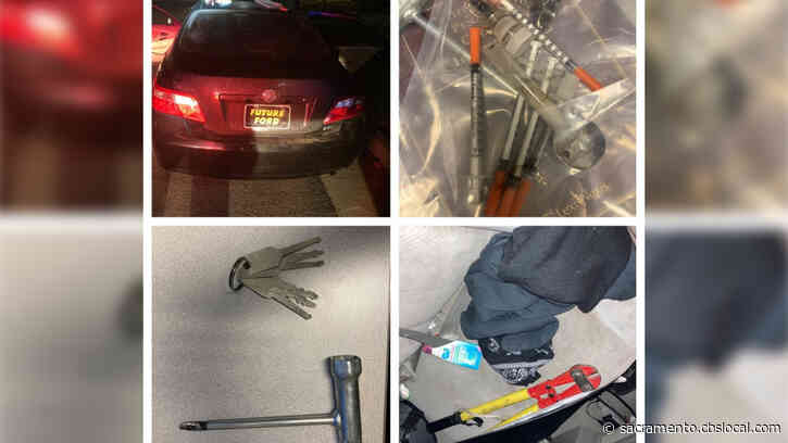 Suspected Burglary Tools Found In Car After Traffic Stop In Lincoln, 2 Men Arrested
