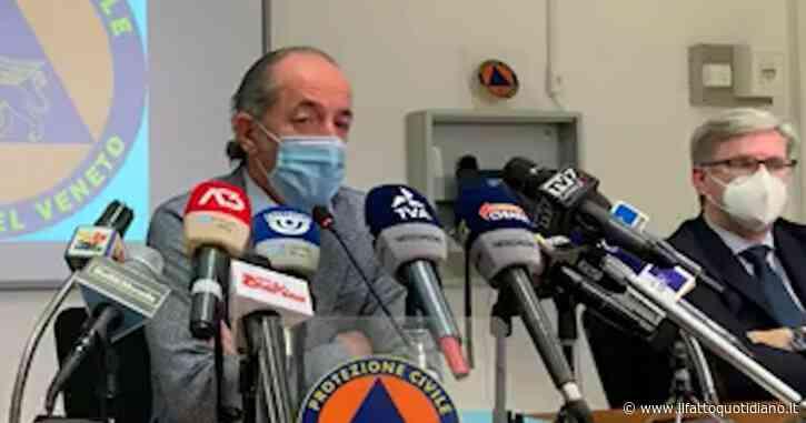 """Dati gonfiati sulle terapie intensive in Veneto? Zaia si difende: """"Nessun mistero. Noi i 1.000 respiratori ce li abbiamo, altre Regioni no"""""""