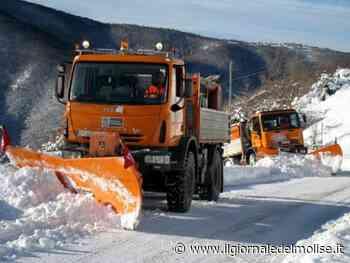 Provincia di Isernia: piano neve pronto - Il Giornale del Molise