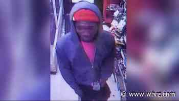 Police looking for suspect in armed robbery near BREC park