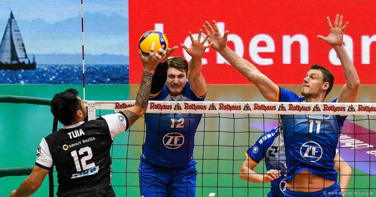 Volleyball-Bundesliga : BR Volleys fehlt Angriffsdruck in Friedrichshafen - Berliner Zeitung