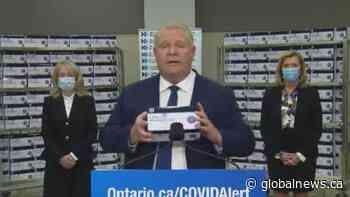 Coronavirus: Ontario to deploy rapid COVID-19 tests to hospitals, rural communities