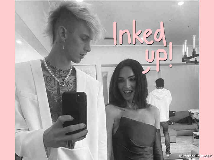 Megan Fox Debuts Machine Gun Kelly Tattoo After Only Months Of Dating
