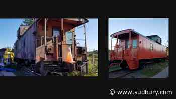 Before and after: Railroad museum's Little Red Caboose gets big restoration