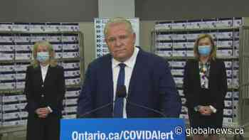 Coronavirus: Premier Ford 'wishes' Toronto BBQ joint follow the rules of indoor gatherings after defying public health orders