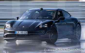 La Porsche Taycan dérape sur 42 km