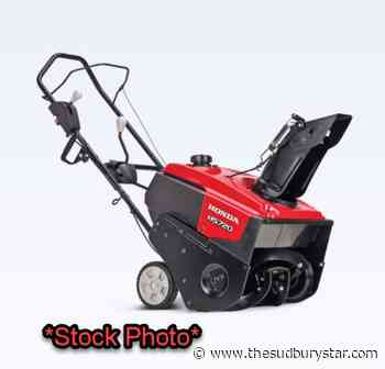 Snowblower stolen from Sturgeon Falls property