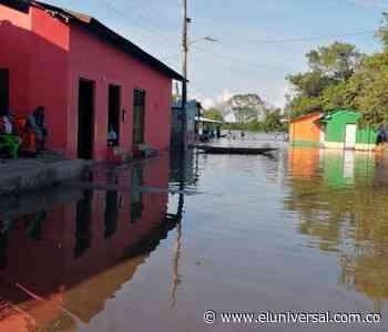 Se desató la inundación en municipios Simití y Morales - El Universal - Colombia