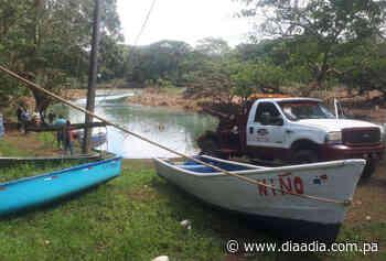 Encuentran un auto en el fondo de un río en Soná - Día a día