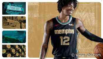 Memphis Grizzlies unveil 2020-21 City Edition Nike Uniforms celebrating legacy of Stax Records and life of Isaac Hayes