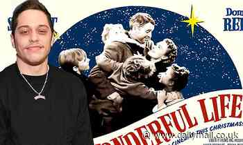 Pete Davidson will lead a virtual table read of the Christmas fantasy drama It's a Wonderful Life