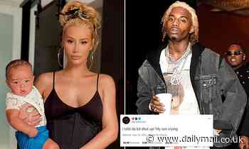 Iggy Azalea blasts ex Playboi Carti after he appears to share a disrespectful tweet about her