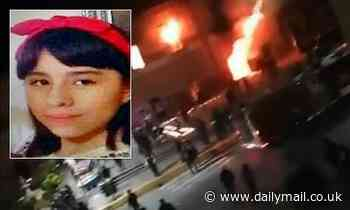 Angry residents burn Mexican city hall building after the abduction and murder of a 12-year-old girl