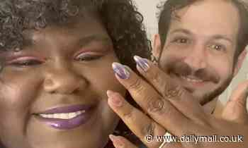 Gabourey Sidibe reveals beau Brandon Frankel proposed and flashes the rock in Instagram post