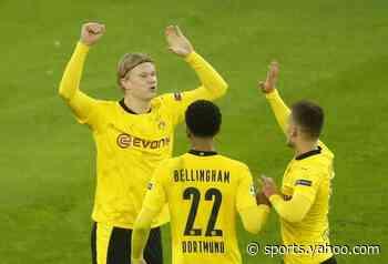 Haaland continues record exploits as Dortmund beat Brugge
