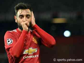 Fernandes bags brace as Man Utd sink Basaksehir