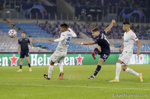 Immobile scores 2 on his return from virus in Lazio win