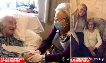 Christmas blow for elderly in care homes: Insurance row could strand Covid-19 OAPs on hospital ward