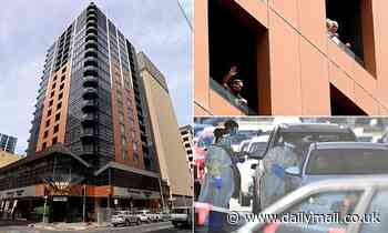 Testing blitz at embattled Adelaide quarantine hotel where outbreak began