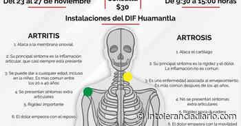 Invita Huamantla a prevenir osteoporosis en la población - Intolerancia Diario