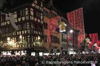Strasbourg, capitale de Noël : une mise en lumière sans public, mais avec un ténor - France 3 Régions