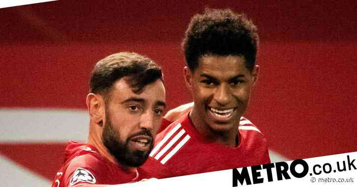 Bruno Fernandes backing Marcus Rashford to be Champions League top scorer after Manchester United beat Istanbul Basaksehir