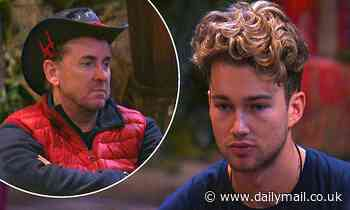 I'm A Celebrity: AJ Pritchard continues to rant over Shane Richie's 'dirty' pans