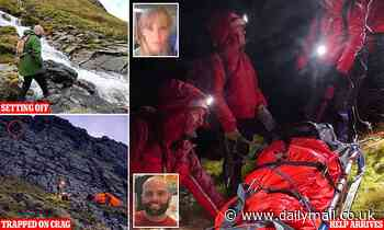 Romantic hill-walk ends in 200ft mountain plunge for woman's suitor... but he's now moving in