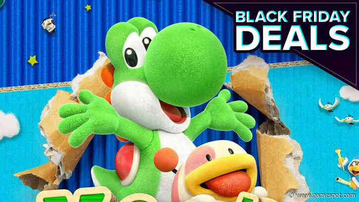 Black Friday Switch Deal: Get Yoshi's Crafted World For Only $27 This Week