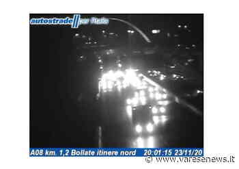 Incidente sulla A8, coda in uscita da Milano in direzione Varese - Varesenews