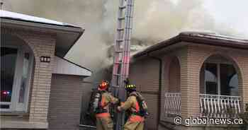 No injuries after Hamilton firefighters knock down blaze at residence on the Mountain