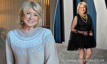 Martha Stewart, 79, looks flawless as she shows off her ageless visage