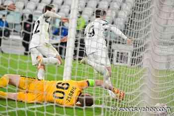 Last-gasp Morata strike seals Juventus last-16 berth