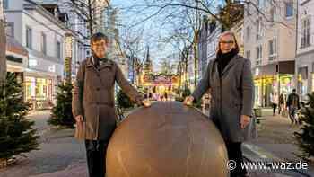Stadt Herne setzt ein Zeichen gegen Gewalt an Frauen - Westdeutsche Allgemeine Zeitung