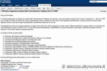 Sospensione vaccini Asl Chieti, Paolucci: 'Situazione inaccettabile. Chiesta seduta della Commissione vigilanza' - Ultime Notizie Cityrumors.it - News Ultima ora - CityRumors.it