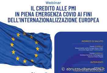 Chieti, il Centro Europe Direct della 'd'Annunzio' organizza 'Il credito alle PMI in piena emergenza Covid' - Ultime Notizie Cityrumors.it - News Ultima ora - CityRumors.it