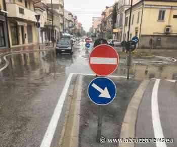Chieti, manutenzione strade: interventi sulla rotonda di Viale Abruzzo - Abruzzonews