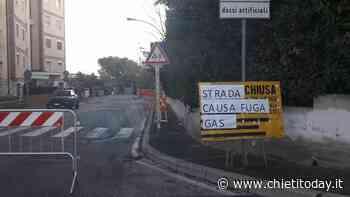 Fuga di gas in viale Gran Sasso: strada interrotta - ChietiToday