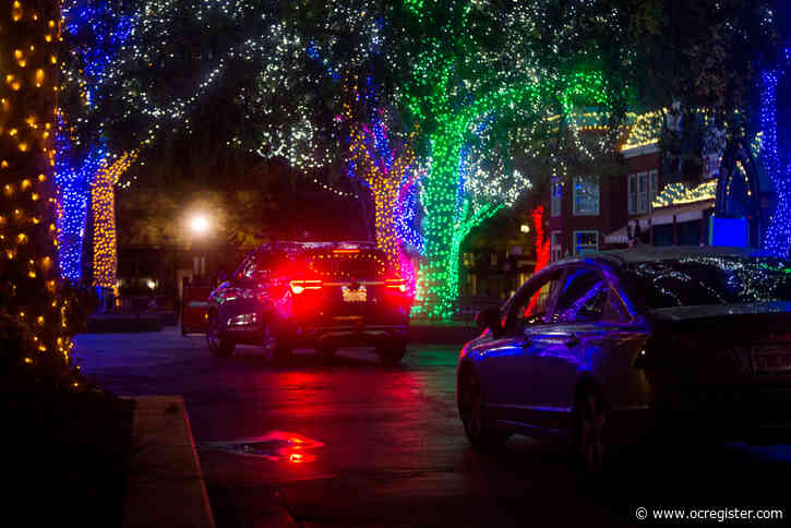 Six Flags Magic Mountain expands drive-thru holiday lights event