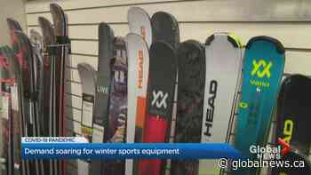 Coronavirus: Ski, snowboard demand surges amid COVID-19 pandemic