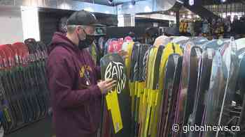 Coronavirus pandemic fuels demand for recreational winter gear