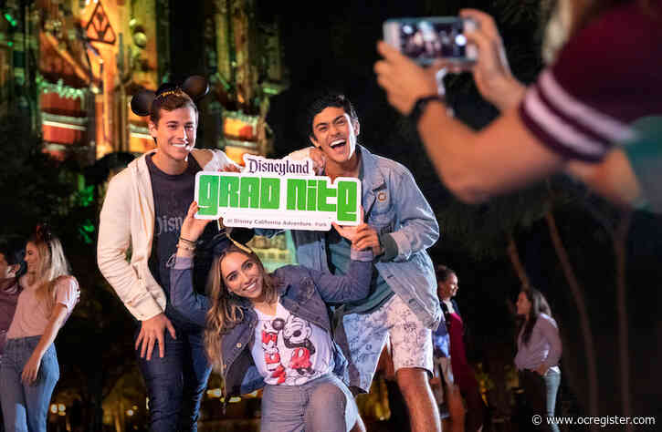 Disneyland cancels Grad Nite 2021 amid coronavirus concerns